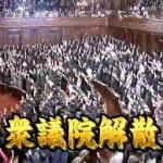 衆議院議員総選挙,解散